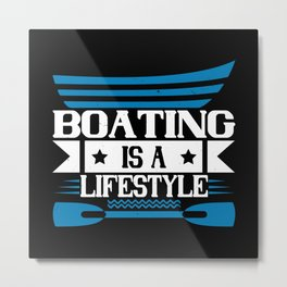 Boating - Fun On The Water - 09 Metal Print