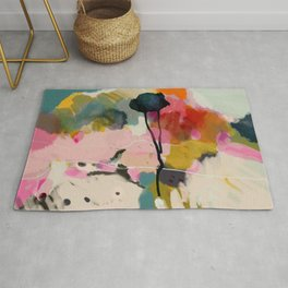 paysage abstract Rug