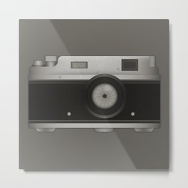 Old Analogic Camera Metal Print