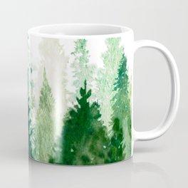 Pine Trees 2 Kaffeebecher