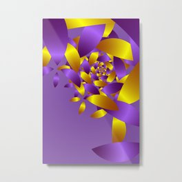 pattern and color -50- Metal Print