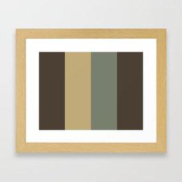 TEXT : T(aupe) E(cru) X(anadu) T(aupe) Framed Art Print