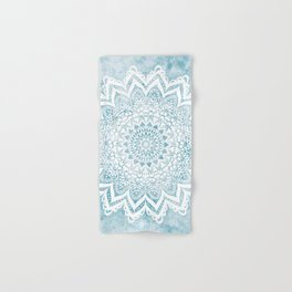 LIGHT BLUE MANDALA SAVANAH Hand & Bath Towel