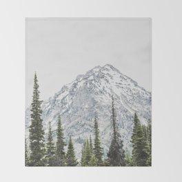 Grand Teton National Park Adventure III - Wanderlust Mountains Throw Blanket