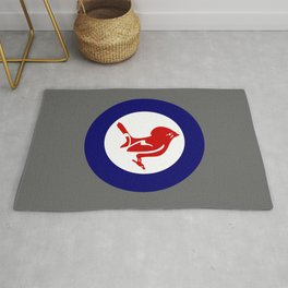Tomtit Air Force Roundel Rug