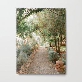 Botanical paradise | Morocco travel photography Metal Print