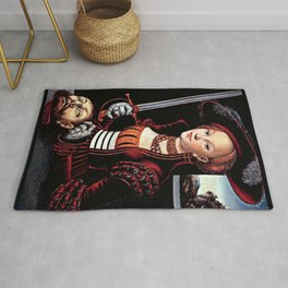 Judith with the Head of Holofernes Rug