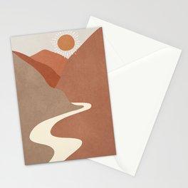 Minimalistic Landscape I Stationery Cards