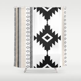 Pueblo in Tan Shower Curtain