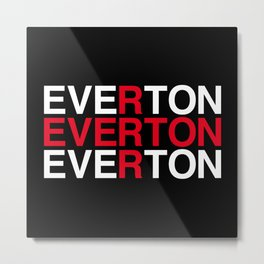 EVERTON Metal Print