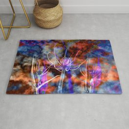 Floral Cloud Spectacle Rug