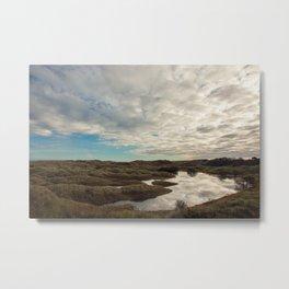 Bamburgh Dunes Metal Print