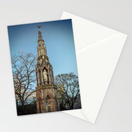 Martyrs Memorial at Oxford University England Stationery Cards
