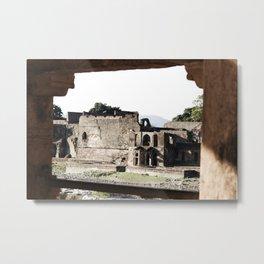 Ruins all around Metal Print