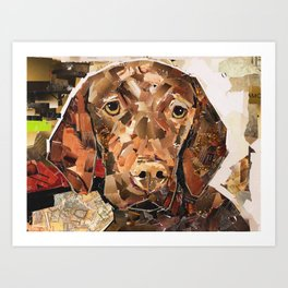 Pippen Art Print