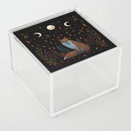 Autumn Fox Acrylic Box