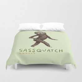 Sassquatch Duvet Cover