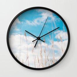 Summer Grass Wall Clock