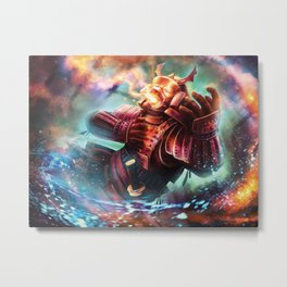 Undone by the Enlightened Metal Print