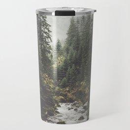 Mountain creek - Landscape and Nature Photography Travel Mug