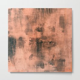 tex mix orange Metal Print