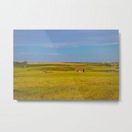 Prairie Ruins, North Dakota 2 Metal Print