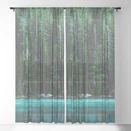 Forest 3 Sheer Curtain