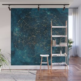 Under Constellations Wall Mural