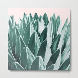 Agave Chic #10 #succulent #decor #art #society6 Metal Print