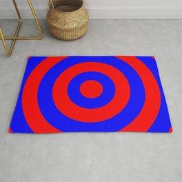 Target (Red & Blue Pattern) Rug