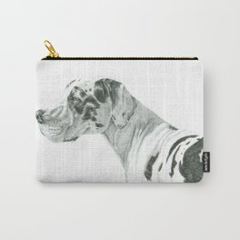Great dane - harlequin Carry-All Pouch