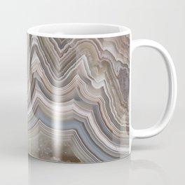 Striped Agate Crystal Coffee Mug