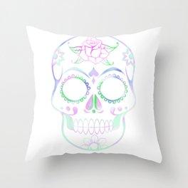 Love Skull (Pastel) Throw Pillow