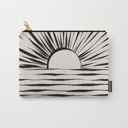 Minimal Sunrise / Sunset Carry-All Pouch