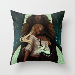 Ghost of mine Throw Pillow