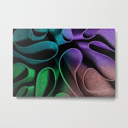 Wavy Colors Metal Print