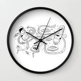 Age of contact Wall Clock