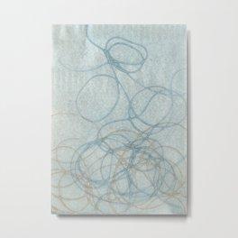 Blue Nest 2 Metal Print