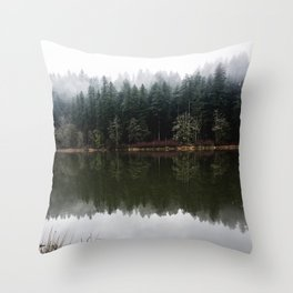 Lost In The PNW Throw Pillow