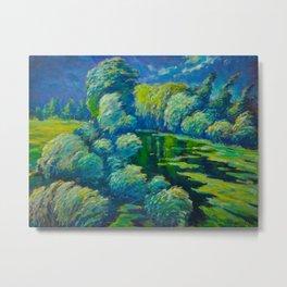 Václav Radimský (1867-1946) Before The Storm Impressionist Landscape Oil Painting Metal Print