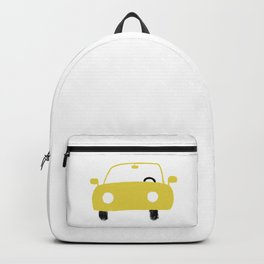 Yellow Car Backpack