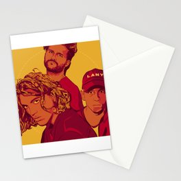Yellow LANY Stationery Cards