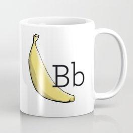 Fruit + Veggie Alphabet: Banana Coffee Mug