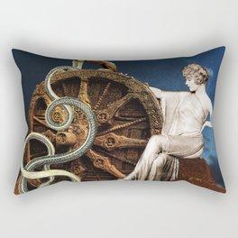 The Wheel Rectangular Pillow