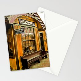 Train Station - Cumbres and Toltec Railroad, Chama, New Mexico Stationery Cards
