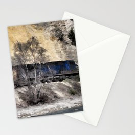 Rocky Mountain Ranger Train Stationery Cards