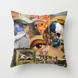 stagnant composition Throw Pillow