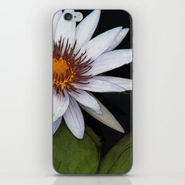 White Water Lily iPhone Skin