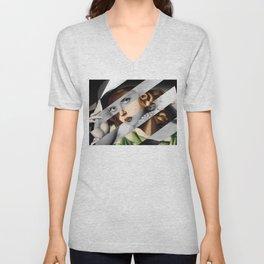 Tamara De Lempicka & Bette Unisex V-Neck
