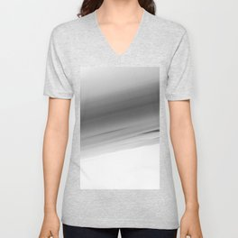 Gray Smooth Ombre Unisex V-Neck